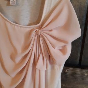 Pastel Pink Summer Top